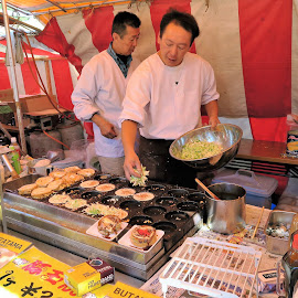 Buta-Tama Stall by Dennis Ng - Food & Drink Cooking & Baking