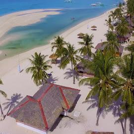 Bantayan by Sergei Tokmakov - City,  Street & Park  Vistas ( tropics, beach, paradise, aerial, drone, bantayan )
