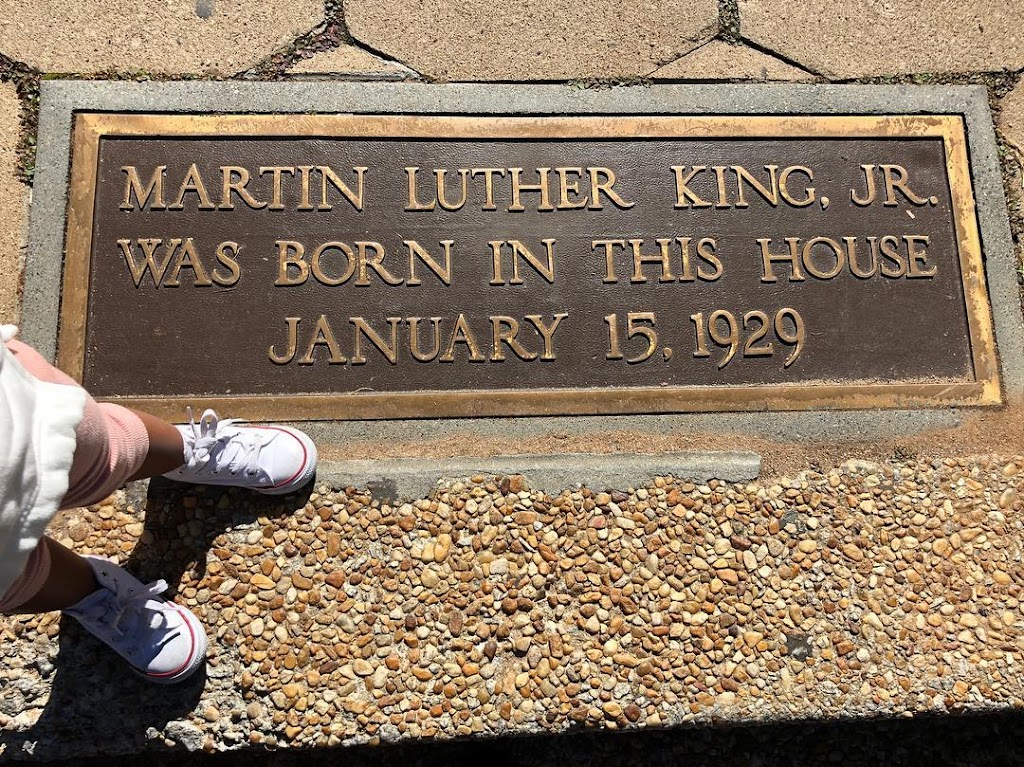 Read The Plaque Martin Luther King Jr Was Born In This House