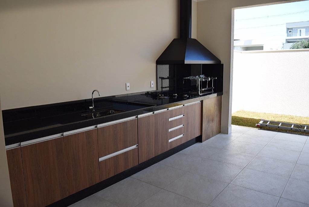 Casa Térrea com 3 dormitórios à venda por R$ 637.000 - Residencial Real Park Sumaré/SP