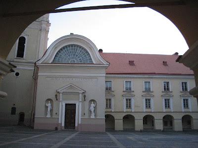 Inside Vilnius University