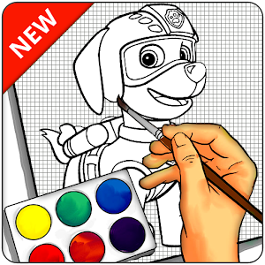 How To Draw PAW Patrol - Easy For PC