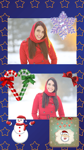 android Christmas Magic Greeting Cards Screenshot 1