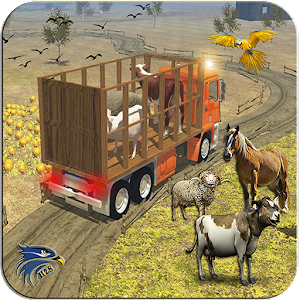 Download Farm Animal Loader: Mountain Transporter Truck For PC Windows and Mac