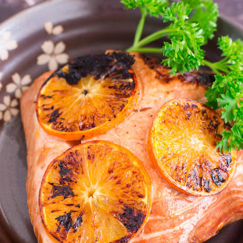 Zesty Orange Seared Salmon