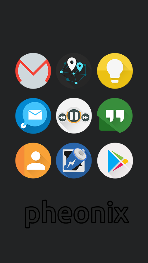 Phoenix - Icon Pack Screenshot 3