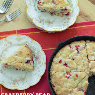 Cranberry Pear Breakfast Cake