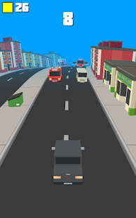 Crashy Road - Endless Traffic- screenshot thumbnail