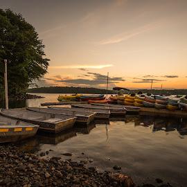 by Michael Last - Transportation Boats