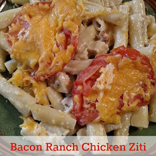Bacon Ranch Chicken Ziti