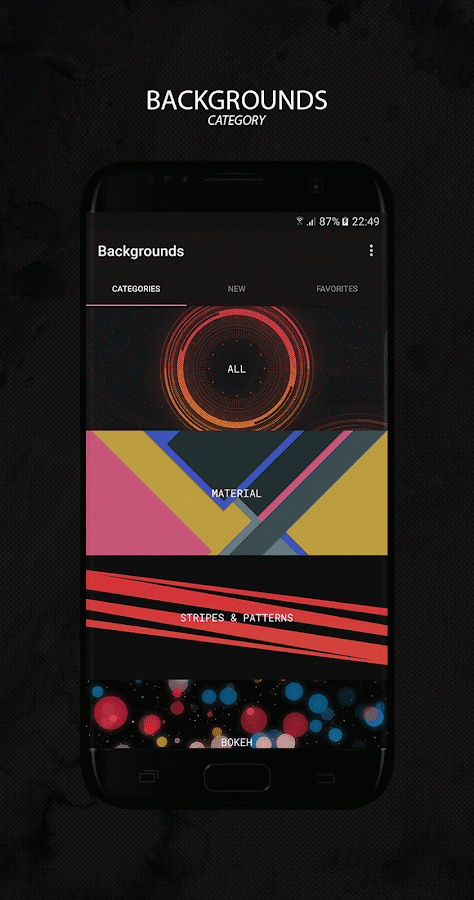 Backgrounds - Wallpapers Screenshot