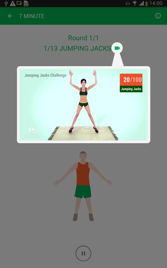 7 Minute Workout Screenshot 18