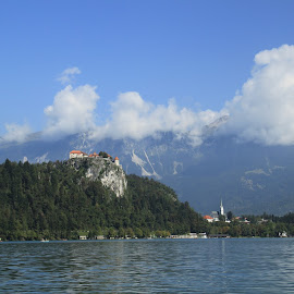 Lake Bled by Tommy McAuley - Landscapes Mountains & Hills