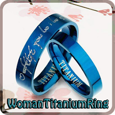 Woman Titanium Ring