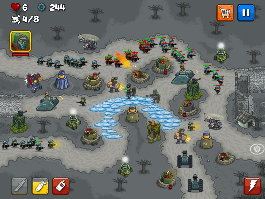 Combat Tower Defense Screenshot 13