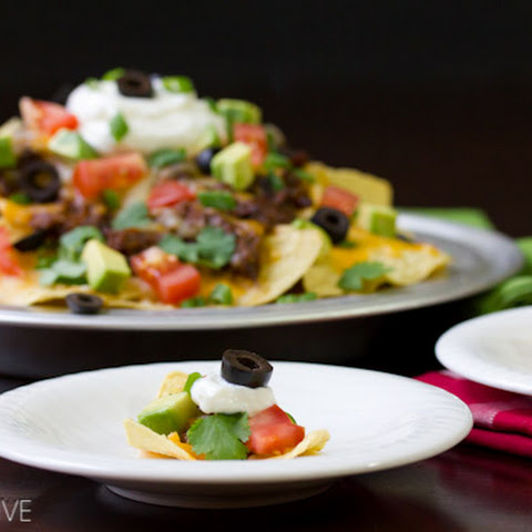 Beef Nachos with Slow Cooker Chili Con Carne