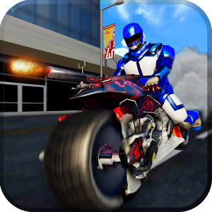 Download US Police Spider Robot: Bike Hero Gangster Chase for PC