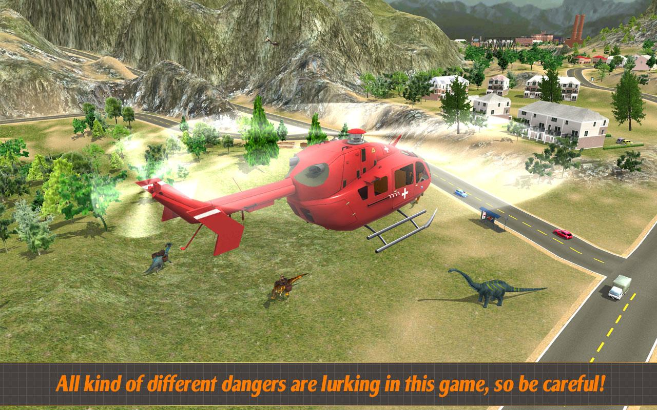 Helicopter Hill Rescue 2017 Screenshot 1