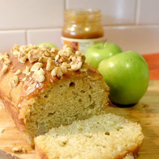 Caramel Apple Loaf Cake