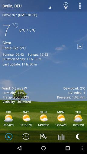 3D Flip Clock & Weather Pro - screenshot