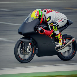Test of Moto3 by Jiri Cetkovsky - Sports & Fitness Motorsports ( moto3, test, grand prix, motoecycle, race )