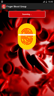 Blood Group Detector Prank - screenshot