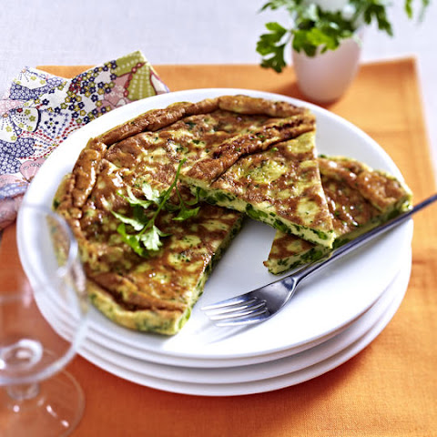 Pea and Parsley Potato Cakes