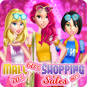 Mall Shopping Sales Dress Up