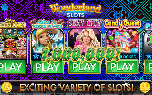 Slots - Wonderland Casino - screenshot