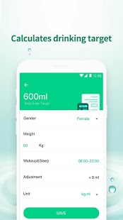 Water Drink Tracker - Water Time & Alarm for pc