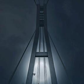 on the bridge by Erol Ayyıldız - Buildings & Architecture Bridges & Suspended Structures ( kocaeli, turkey, bridge, people )