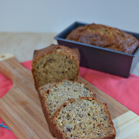 Banana Oatmeal Loaf #BreadBakers