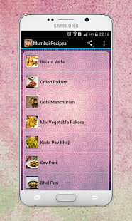 Bombay Mumbai Recipes - screenshot