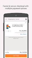 Screenshot of Snapdeal Online Shopping India