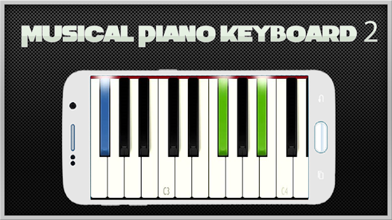 Musical Piano Keyboard 2 - screenshot