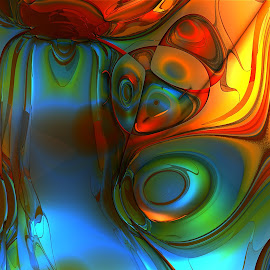 Abstract 2 by Cassy 67 - Illustration Abstract & Patterns ( abstract, colorful, abstract art, fractal art, digital art, mb3d, fractal, digital, fractals )