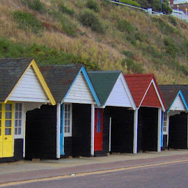 Beach Huts by John Powell - Buildings & Architecture Architectural Detail
