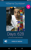 Screenshot of Obama Countdown