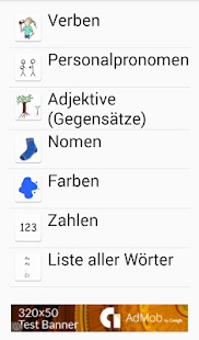 Sag mal - learn German - screenshot