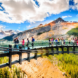 Sky Walk by Joseph Law - Landscapes Mountains & Hills