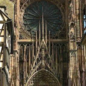 Notre Dame de Strasbourg by Daniela Murat - Buildings & Architecture Public & Historical ( arhitecture, notre dame, front, gohic style, strasbourg )