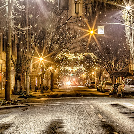McMinnville 3rd Street by Debbie Slocum Lockwood - Public Holidays Christmas