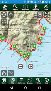 SityTrail Spain - hiking GPS - screenshot