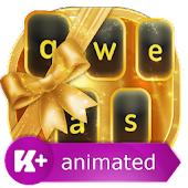App Gold Animated Keyboard 1.0.3 APK for iPhone