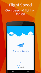 Flight Speed - GPS based meter - screenshot