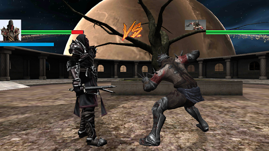 Mortal Warriors figthers - screenshot