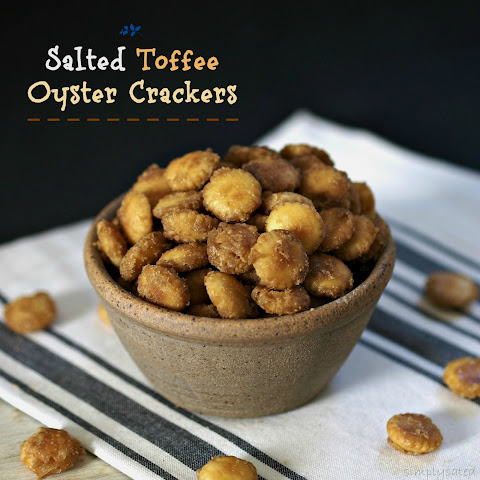Salted Toffee Oyster Crackers