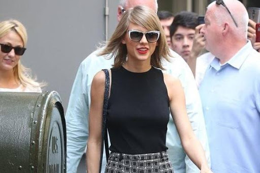 Taylor Swift: Her er min dj-kæreste! taylor swift, calvin harris