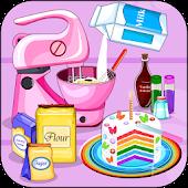 Cooking Rainbow Birthday Cake APK for Bluestacks