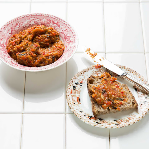 Ajvar (Roasted Pepper and Eggplant Spread)